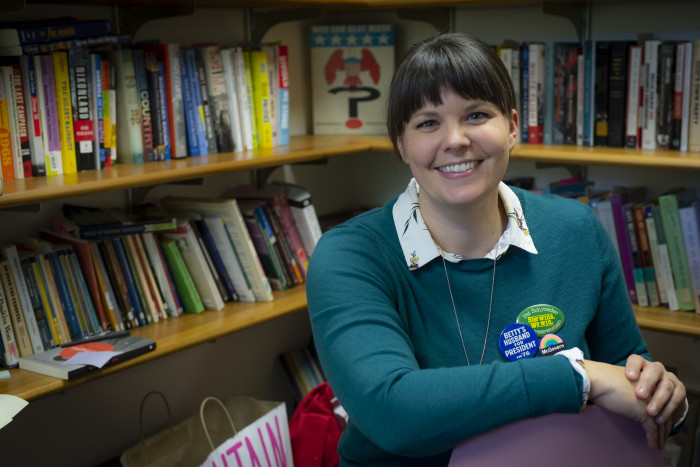 Sarah Rowley, history asst prof