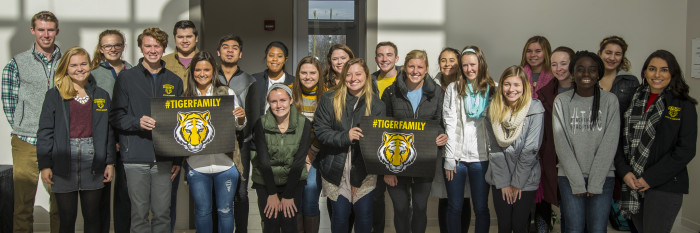 DePauw Office of Admission Tour Guides #TIGERFAMILY