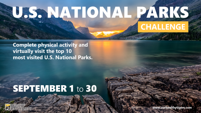 Picture of National Park scenery describing challenge