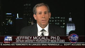 Jeff McCall on Fox News