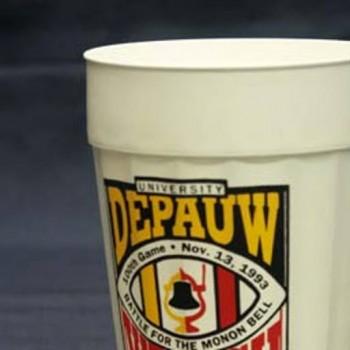 Monon Bell souvenir cup from 1993