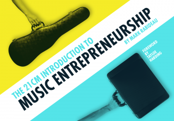 The 21CM Introduction to Music Entrepreneurship book cover