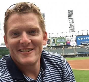 Ryan McGuffey at the ballpark