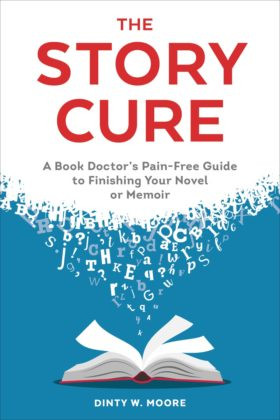 Dinty Moore book cover, The Story Cure