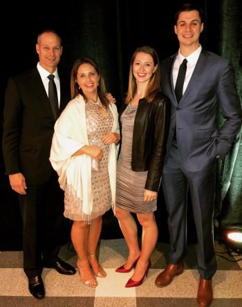 Lauren Falotico and family