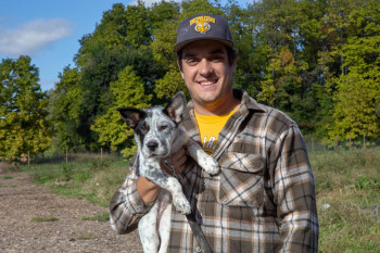 Joe Garbe, Assistant Director of Sustainability and Campus Farm Manager