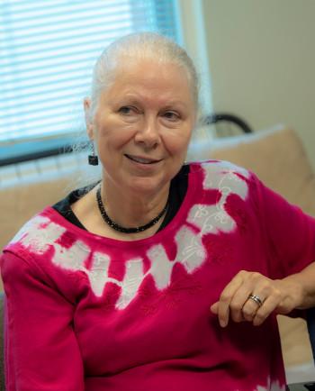 Computer science prof Gloria Townsend