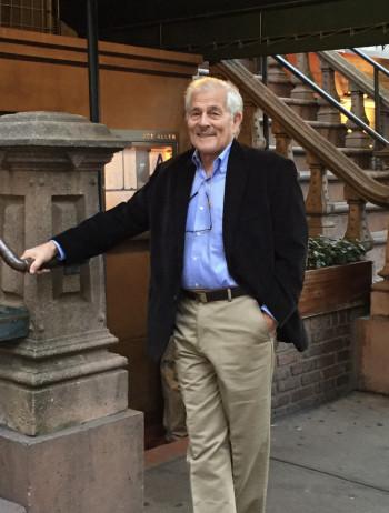 David T. Allen standing portrait