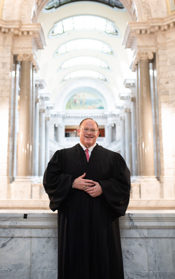 Justice C. Shea Nickell in KY capitol