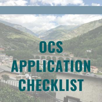 OCS Checklist