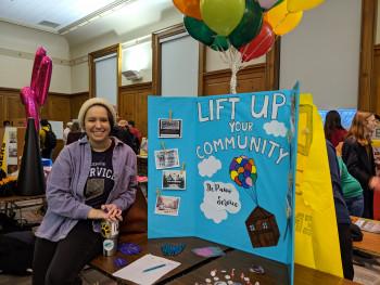 Student Coordinator at 2019 Spring Activities Fair