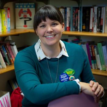 History professor Sarah Rowley headshot