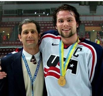 Michael Stuart with son Mark