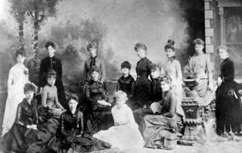 Kappa Alpha Theta, nation's first sorority, established at DePauw in 1870