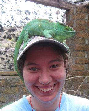 Megan in Madagascar
