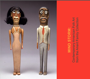 Alternate cover art for 2003 Mind Storm: Contemporary American Folk Art from the Arient Family Collection