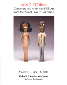 Cover art for 2003 Mind Storm: Contemporary American Folk Art from the Arient Family Collection