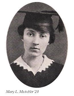 Mary L. Mutschler graduation headshot