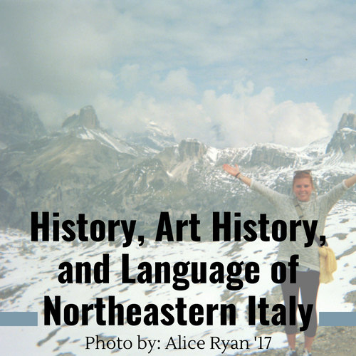History, Art History, and Language of Northeastern Italy