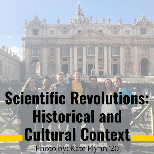 Scientific Revolutions: Historical and Cultural Context