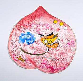 Peach Mask II_350