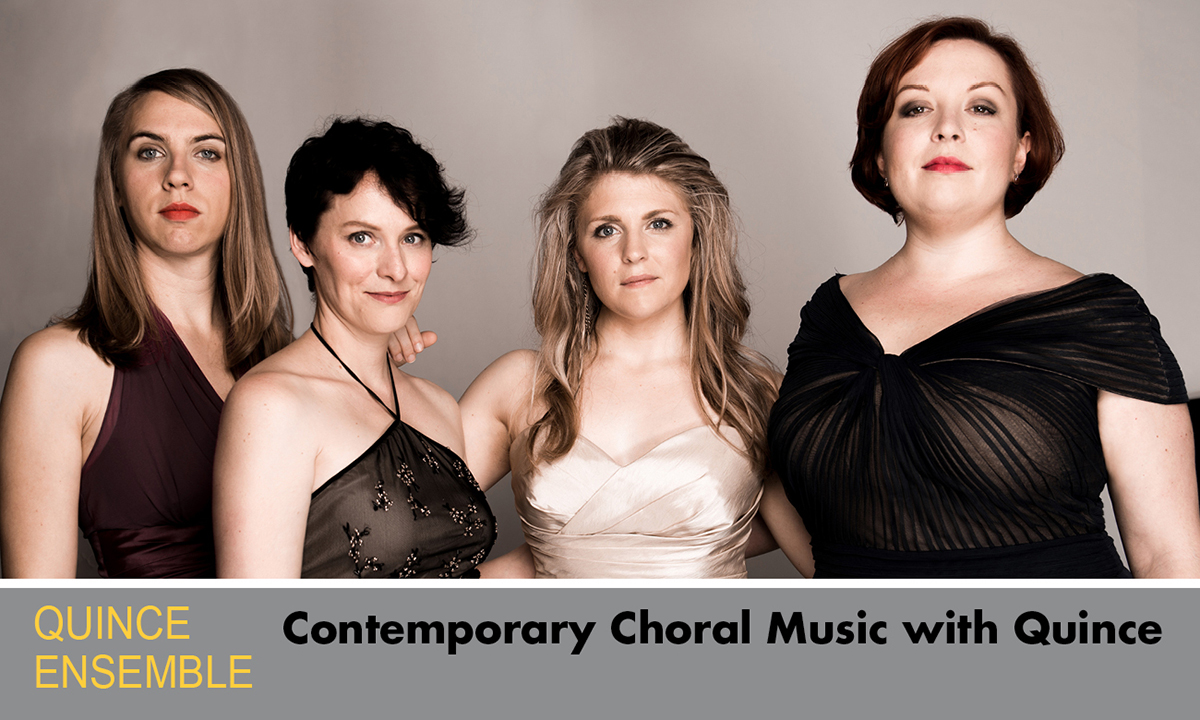 Contemporary Choral Music with Quince promo shot