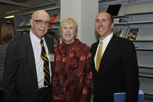 Brian Casey with Dr. and Mrs. Asher