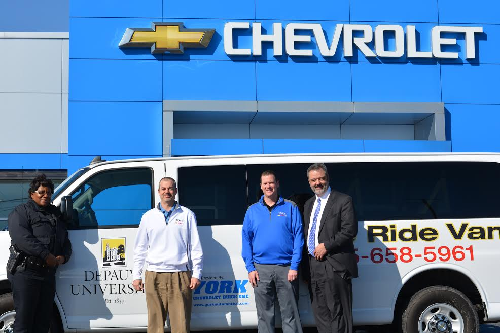 Greencastle's York Chevrolet Buick GMC Provides DePauw With New Safe