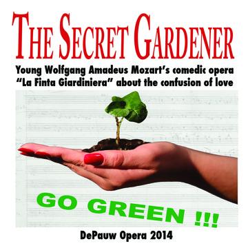 DePauw Opera Presents Updated Version of The Secret Gardener This