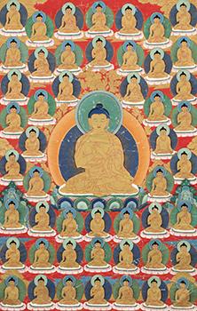 Shakyamuni Stong Sku or 1000 Bodies