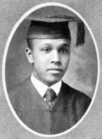 Percy L. Julian graduation headshot