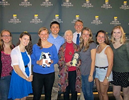 Environmental Fellows with Jane Goodall