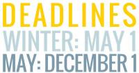 W/M Deadlines