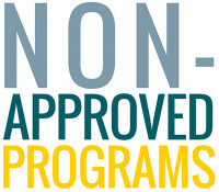 Non-Approved Programs