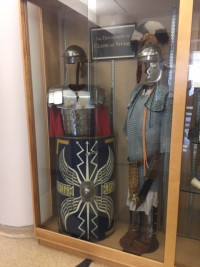 Roman armor on display