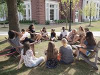 Outdoor classrom