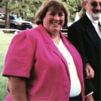 Sue Reynolds when she was overweight