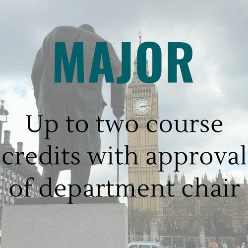 Major Course Credit