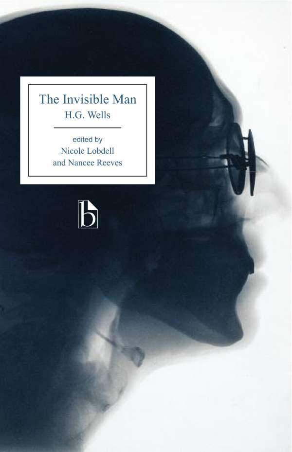 The Invisible Man H.G. Wells cover art