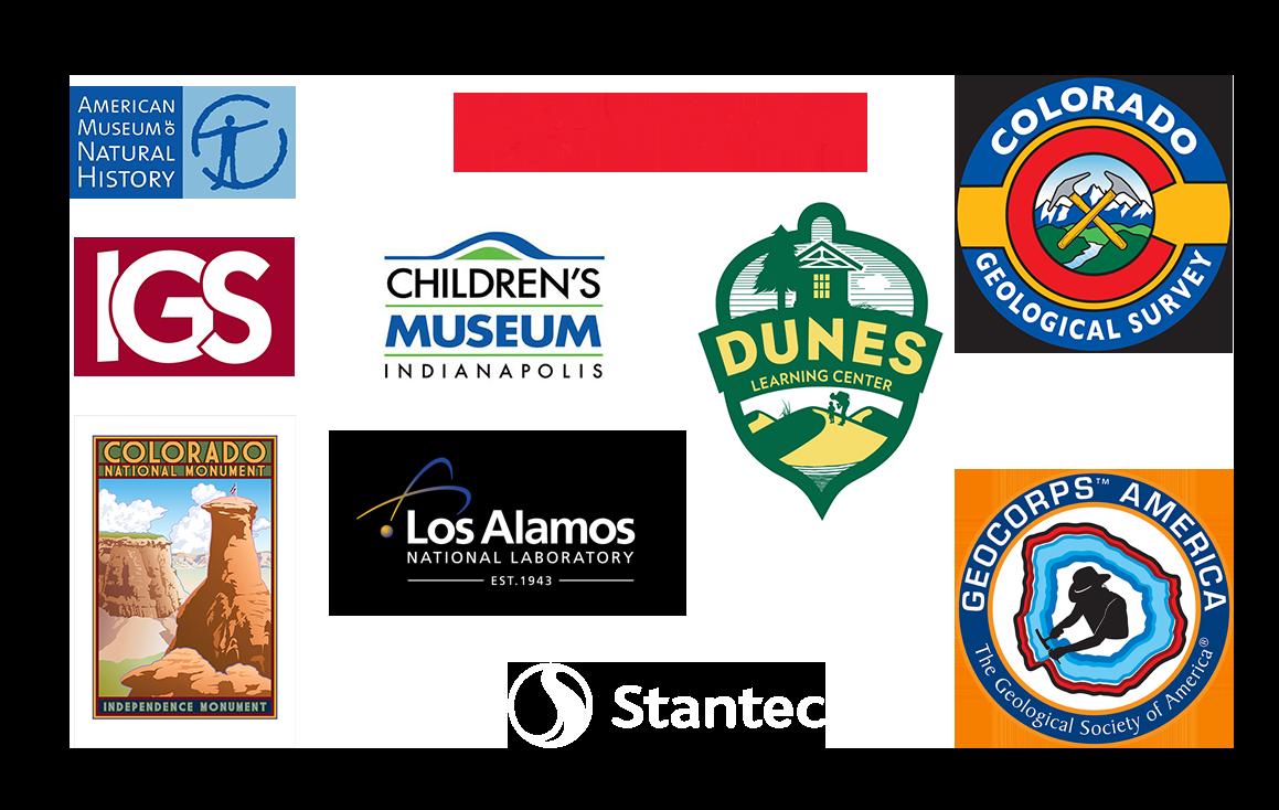 Geoscience company logos