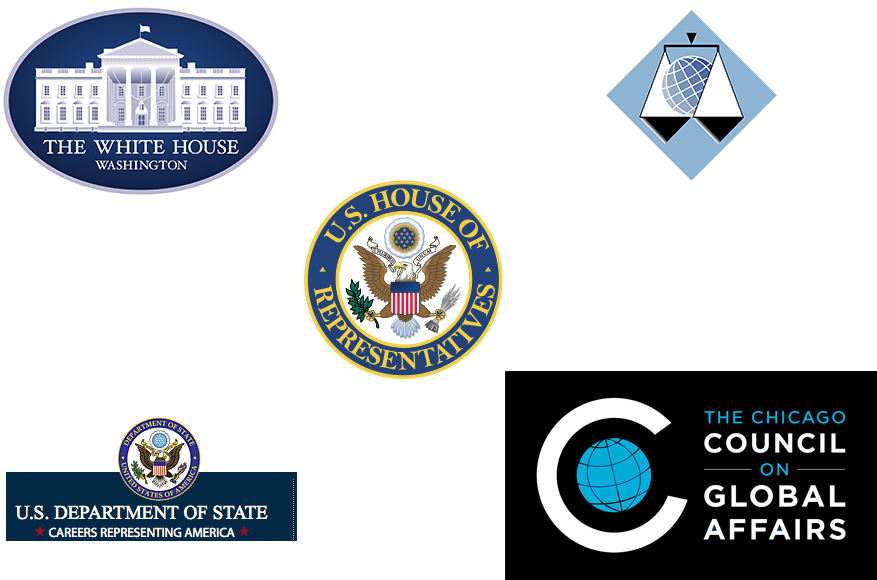 Political Science internship logos