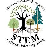 logo treatment for HHMI DePauw
