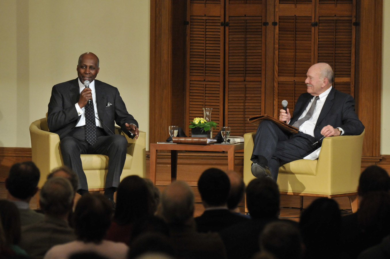 Vernon Jordan 57 Returns To The Quot Second Home Of My Youth