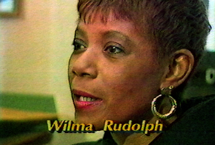 Tv station features depauws new coach legendary olympian wilma february 12 1987 greencastle ind at depauw university gold medalist wilma rudolph was hired not only to coach track but to recruit minority voltagebd Choice Image