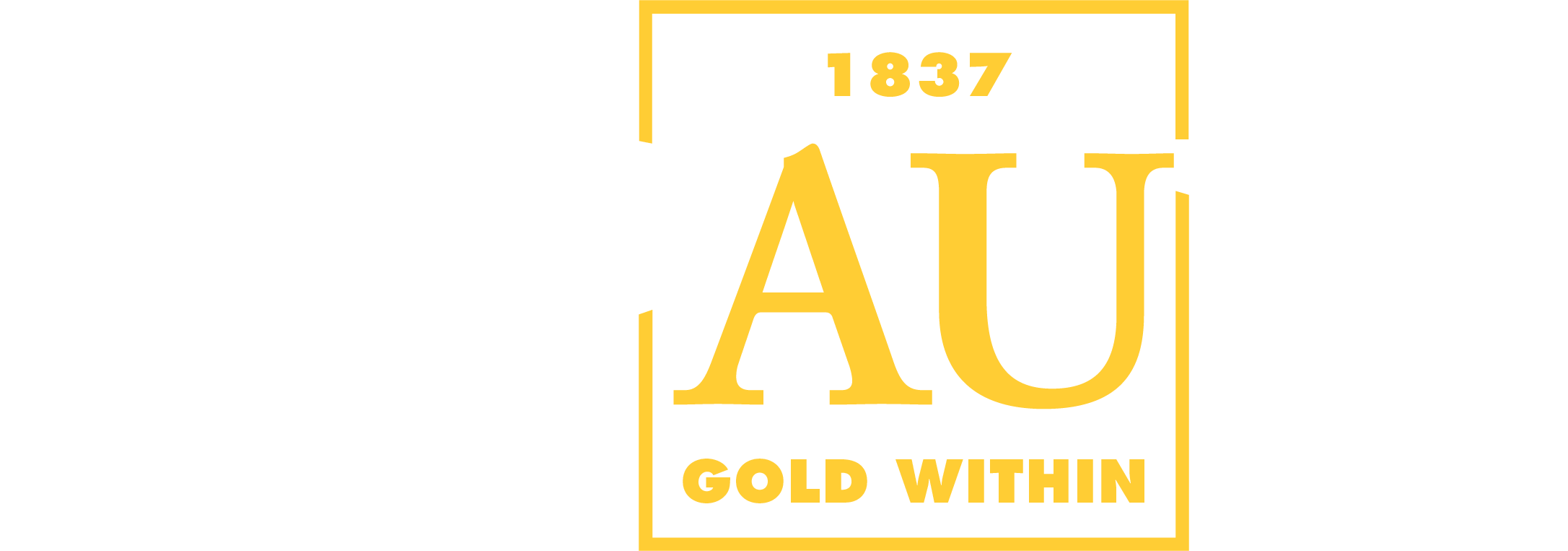 DePauw Gold Within Logo