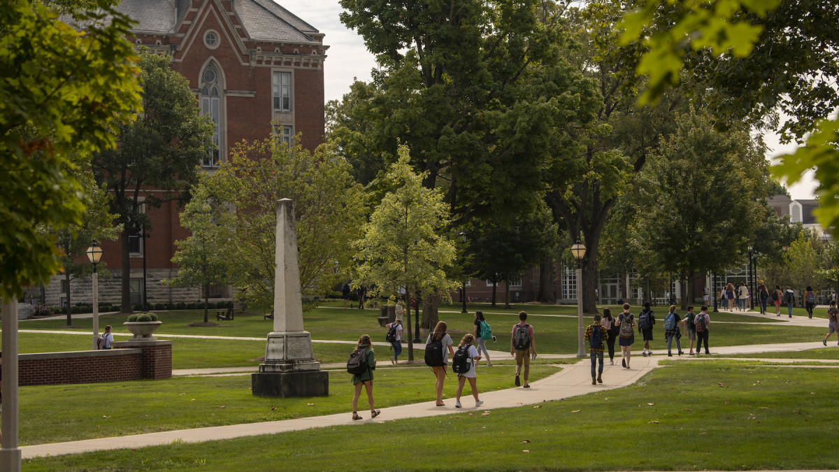 Fall at DePauw: a student's perspective