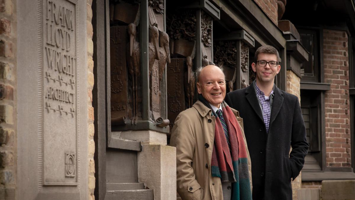 Joseph Vosicky and David Tykvart