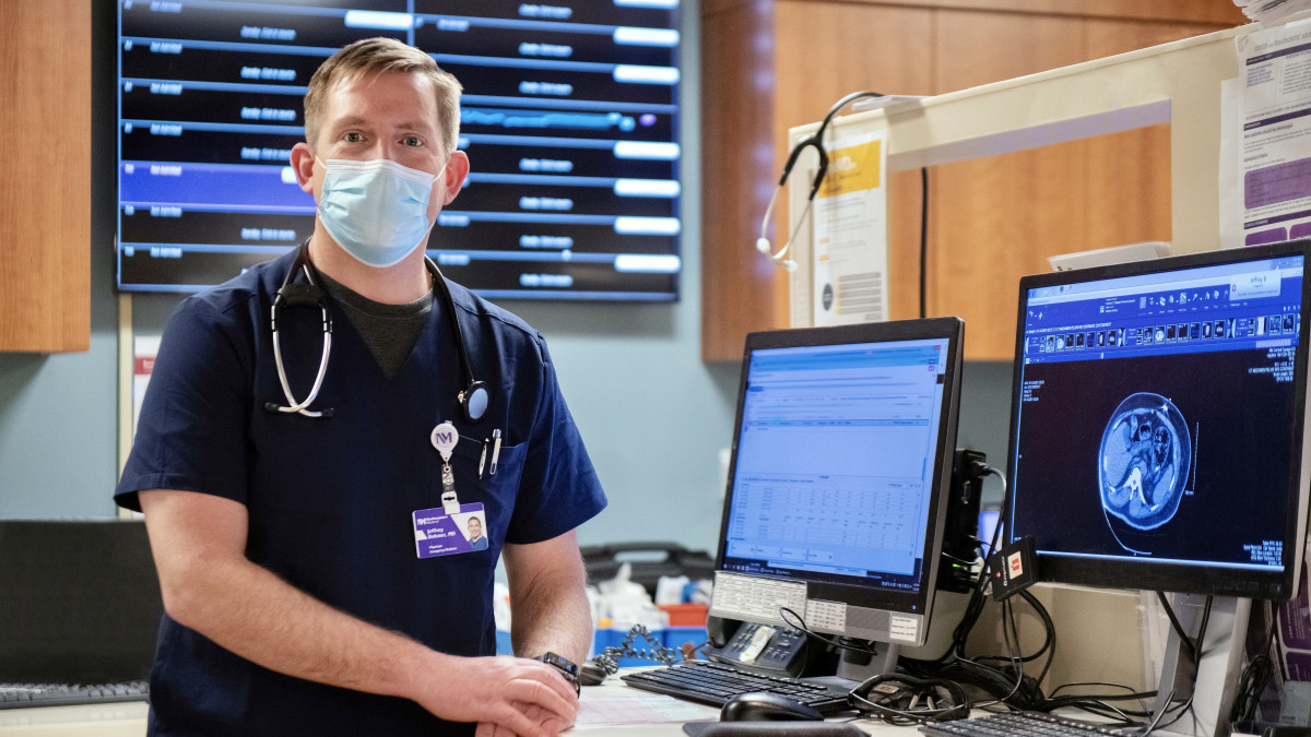 ER physician Jeff Bohmer
