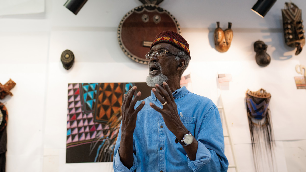 "Willis ""Bing"" Davis '59 is a multimedia artist"