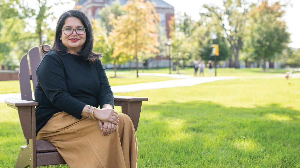 Deepa Prakash, associate prof of poli sci